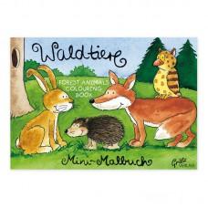 Grätz Verlag Mini-Malbuch Waldtiere DIN-A7