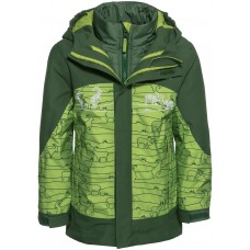 VAUDE Kids Suricate 3in1 Jacket III AOP Gr.104