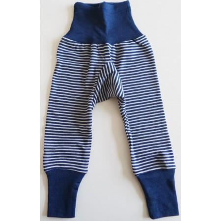 COSILANA Baby-Hose lang mit Bund - Wolle/Seide