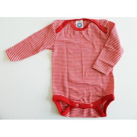 COSILANA Baby-Body 1/1 Arm - Wolle/Seide