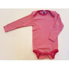 COSILANA Baby-Body 1/1 Arm - Wolle/Seide