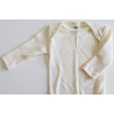 COSILANA Baby-Schlupfhemd 1/1 Arm - Bio-Baumwolle Gr. 50/56