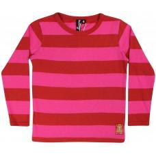 danefae Rocky LS Dk Rust/Hot Pink Kinder Langarmshirt Gr. 104 - 128