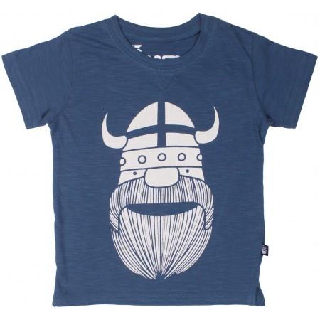 danefae Sloppy Joe Grey Blue ERIK Jungs T-Shirt