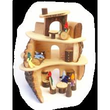 Decor-Spielzeug Magic wooD Holz Baumhaus klein