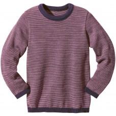 disana Basic-Pullover Kinder Woll Langarmshirt Gr. 110/116 - 134/140