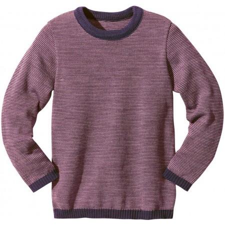 disana Basic-Pullover Kinder Woll Langarmshirt Gr. 122/128 & 134/140