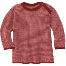 disana Melange-Pullover Kleinkinder Woll Langarmshirt Gr. 74 - 104