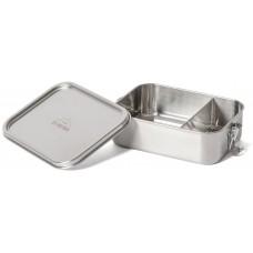 ECO Brotbox - Bento Classic+ auslaufsichere Edelstahl Lunchbox mit festem Trennsteg