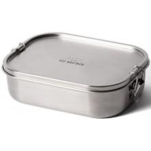 ECO Brotbox - Bento Flex+ auslaufsichere Edelstahl Lunchbox mit variablem Trennsteg