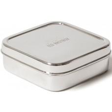 ECO Brotbox - Brotbox Classic - quadratischer Edelstahlbehälter
