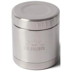 ECO Brotbox - LI + Isolierbehälter 0,3 L mit Schraubverschluss aus Edelstahl