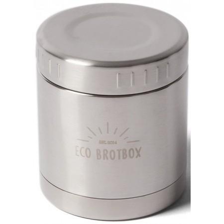 ECO Brotbox LI + Isolierbehälter 0,3 L mit Schraubverschluss aus Edelstahl