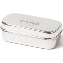 ECO Brotbox - Snackbox XL - rechteckiger Edelstahlbehälter
