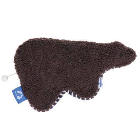 finkid UNINALLE Spieluhr Bär aus Baumwollplüsch