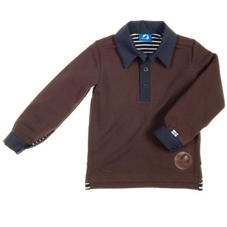 finkid VOIMA Polosweatshirt Gr. 100/110 - 150/160