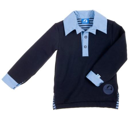 finkid VOIMA Polosweatshirt Gr. 100/110 - 140/150