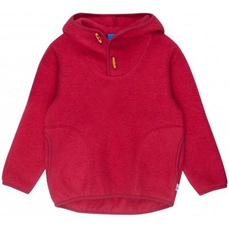 finkid JUSSI WOOL Kinder Wollfleece Hoodie Gr. 90/100