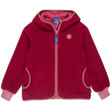 finkid LAINE Mädchen Fleecejacke - Zip in Innenjacke persian red/dusty rose 140/150