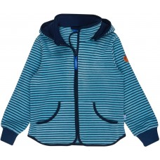 finkid TONTTU STRIPED Fleecejacke - Zip in Innenjacke