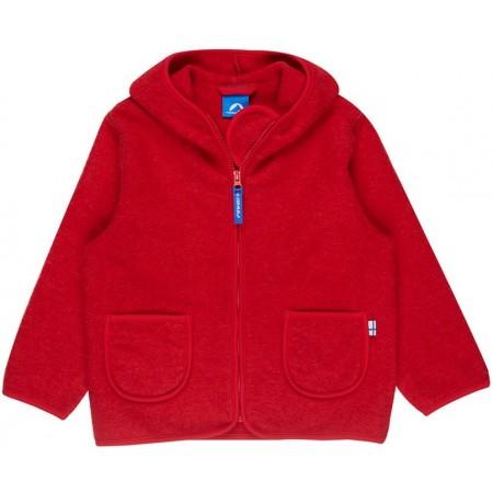 finkid TONTTU WOOL Kinder Wollfleece Jacke - Zip in Innenjacke Gr. 80/90