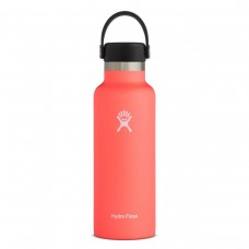 Hydro Flask 18 oz Standard Mouth Thermo Edelstahl Trinkflasche 532 ml Flex Cap