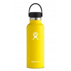 Hydro Flask 18 oz Standard Mouth Thermo Edelstahl Trinkflasche 532 ml Flex Cap