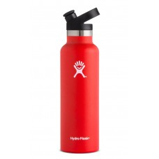 Hydro Flask 21 oz Standard Mouth Thermo Edelstahl Trinkflasche 621 ml Sport Cap