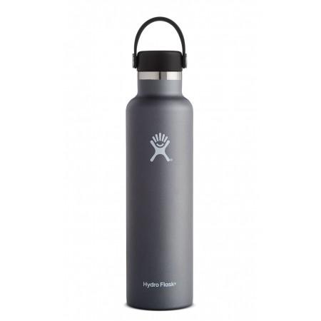 Hydro Flask 24 oz Standard Mouth Thermo Edelstahl Trinkflasche 709 ml Flex Cap