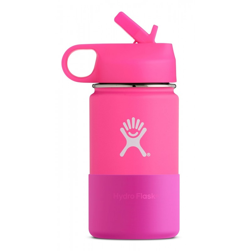 hydro flask 12 oz kids wide mouth edelstahl thermo. Black Bedroom Furniture Sets. Home Design Ideas