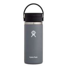 Hydro Flask 16 oz Wide Mouth Edelstahl Thermo Flasche 473 ml Flex Sip™ Lid Deckel