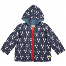 loud + proud wasserabweisende Kinder Jacke Midnight Fuchs