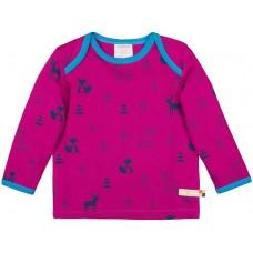 6de330e8d0cdba loud + proud Kinder Langarm Shirt mit Wollanteil Gr. 86 92