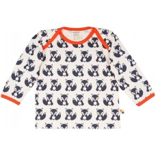 loud + proud Kinder Langarm Fuchs Shirt Gr. 62/68 & 74/80
