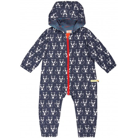 loud + proud wasserabweisender Kinder Overall Midnight Fuchs