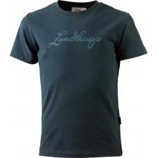 Lundhags Jr Tee Kinder Logo-T-Shirt Gr. 110/116 & 146/152