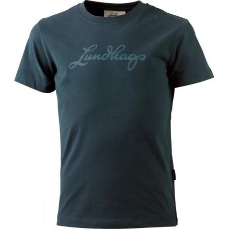 Lundhags Jr Tee Kinder Logo-T-Shirt Gr. 110 - 152