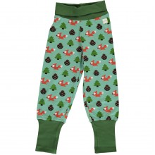 maxomorra Pants Rib BUSY SQUIRREL Kleinkind Pumphose GOTS Gr. 62 - 104
