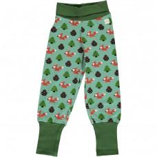 maxomorra Pants Rib BUSY SQUIRREL Kleinkind Pumphose GOTS Gr. 62/68 & 74/80