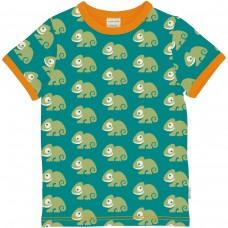 maxomorra Top SS Kinder T-Shirt GOTS Gr. 74 - 140