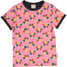 maxomorra Top SS Kinder T-Shirt GOTS Gr. 74 - 140