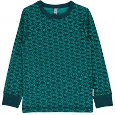 maxomorra Top LS CAR Kinder Langarmshirt GOTS Gr. 74/80
