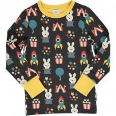 maxomorra Top LS Kinder Langarmshirt GOTS Gr. 86/92, 110/116 & 122/128