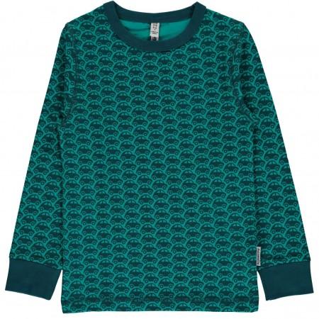 maxomorra Top LS Car Kinder Langarmshirt GOTS