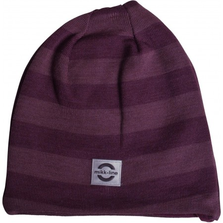 mikk-line Wool Hat Stripes (9104) Kinder Wollmütze Gr. 52 - 56