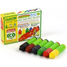 ökoNORM Wachs-Wichtel/Gnome nawaro, Kartonetui - 6 Farben