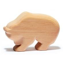Ostheimer Naturholz Bär laufend