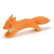 Ostheimer Fuchs groß laufend