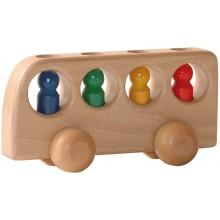 Ostheimer Bus natur mit 4 Männlein