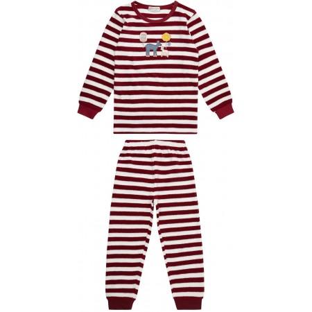 Sense Organics Long John Kinder Frottee Schlafanzug GOTS Gr. 92 - 128
